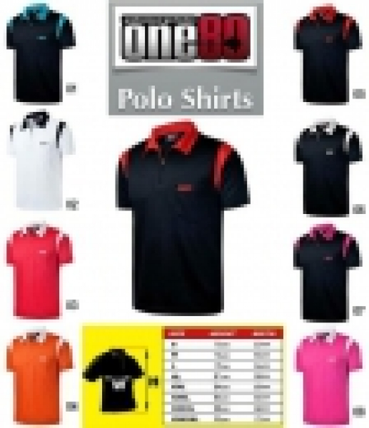 One80 Polo Muster Dartshirts